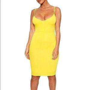 Yellow Tank Dress